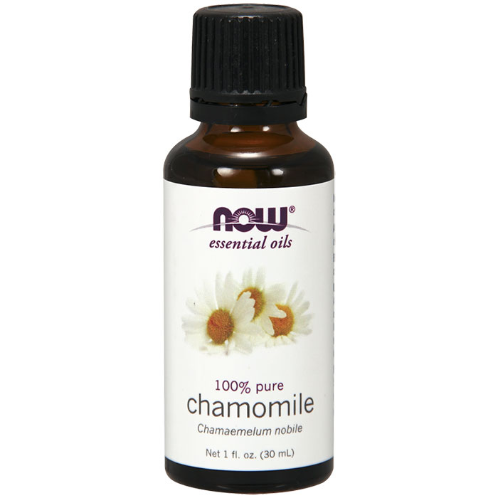 Chamomile Oil, Pure Essential Oil, 1 oz, NOW Foods