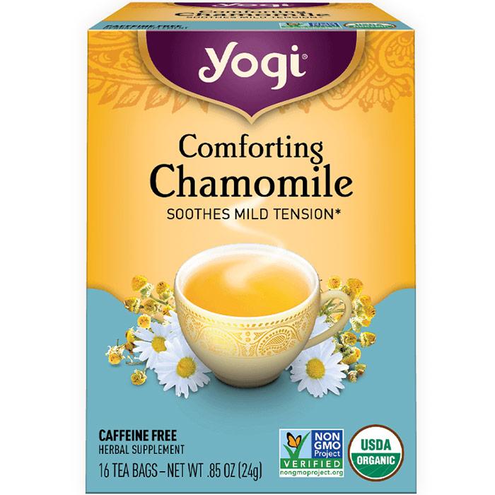 Comforting Chamomile Tea (Tension Relief) 16 tea bags from Yogi Tea