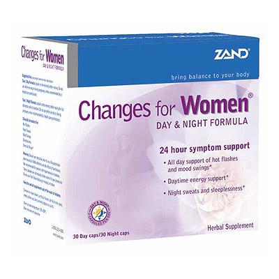 Changes for Women Day & Night Formula, Zand