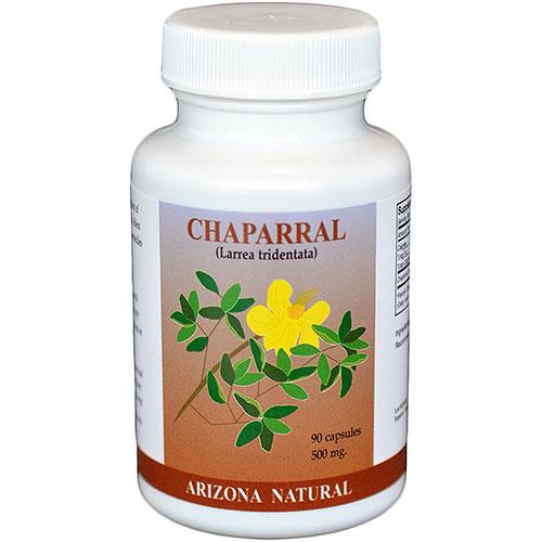 Chaparral (larrea tridentata) 500mg 180 caps from Arizona Natural
