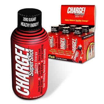Charge! SuperShot, 2 oz x 6 Bottles, Labrada Nutrition