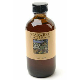 Chaste Tree Berry Extract Liquid 4 oz Organic, StarWest Botanicals
