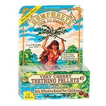 Very Cherry Teething Pellets #3, 135 Pellets, Humphreys Homeopathic Remedies