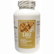 Chewable Multivitamin for Children, 180 Tablets, All Nature