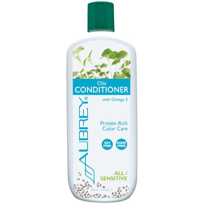 Chia Conditioner with Omega-3, 11 oz, Aubrey Organics
