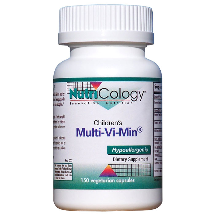 Childrens Multi-Vi-Min 150 caps from NutriCology