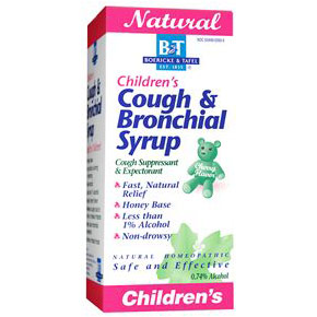 Childrens Cough & Bronchial Syrup, 4 oz, Boericke & Tafel Homeopathic
