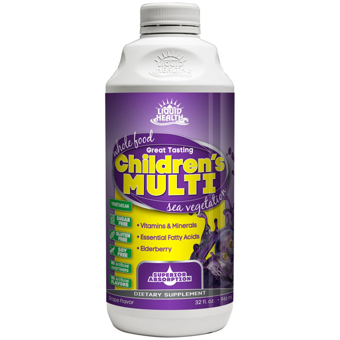 Children's Multiple Liquid Supplement, 32 oz, Liquid Health