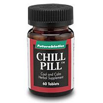 Chill Pill ( Cool and Calm ) 60 tabs, Futurebiotics
