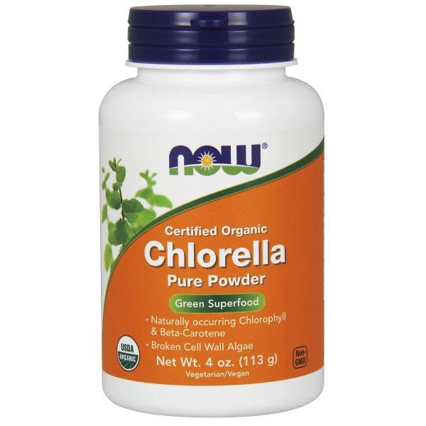 Chlorella Pure Powder 4 oz, NOW Foods