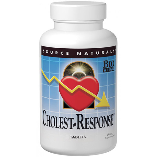 Cholest-Response, 30 Tablets, Source Naturals