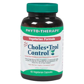 Vegetarian Choles-Trol Control, 60 Veggie Capsules, Phyto-Therapy (Phyto Therapy)