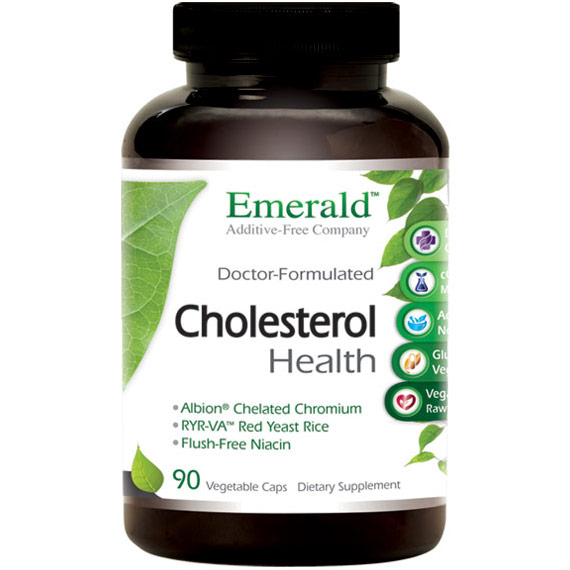 Cholesterol Health, 90 Vegetable Capsules, Emerald Labs