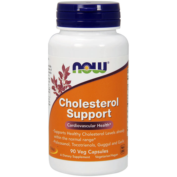 Cholesterol Support, 90 Vegetarian Capsules, NOW Foods