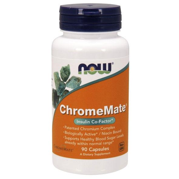 ChromeMate 200 mcg, 90 Capsules, NOW Foods
