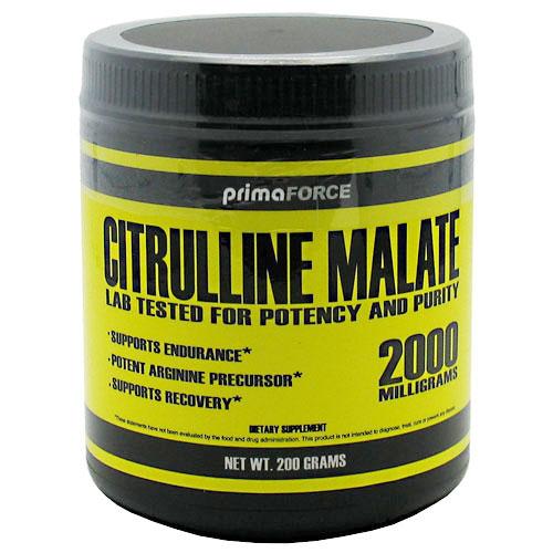 Citrulline Malate Powder, 200 g, PrimaForce