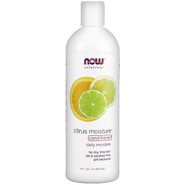 Citrus Moisture Conditioner, 16 oz, NOW Foods