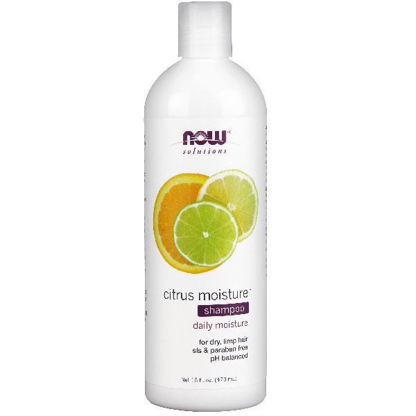 Citrus Moisture Shampoo, 16 oz, NOW Foods