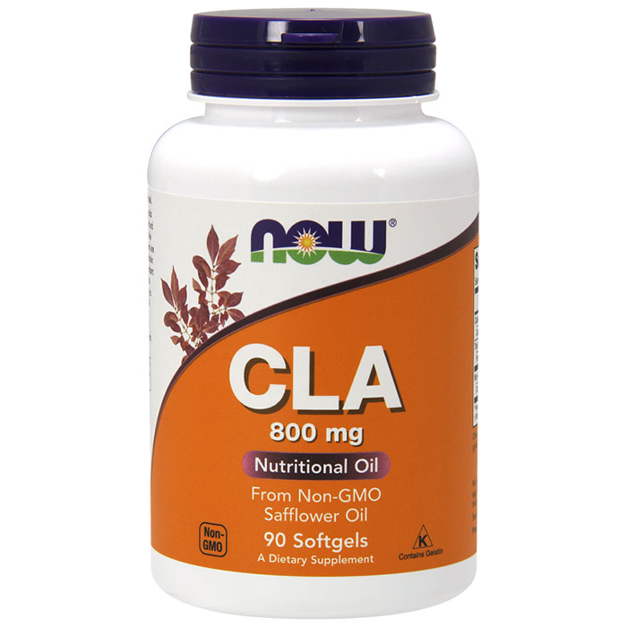 CLA (Conjugated Linoleic Acid) 800mg 90 Softgels, NOW Foods