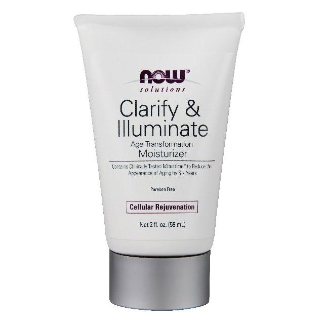 Clarify & Illuminate Facial Moisturizer, 2 oz, NOW Foods