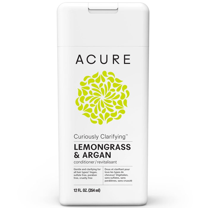 Acure Clarifying Conditioner, Lemongrass + Argan Stem Cell, 8 oz