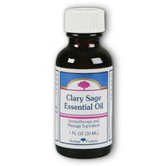 Clary Sage Essential Oil, 1 oz, Heritage Products