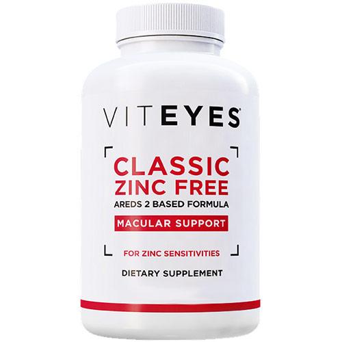 Classic AREDS 2 Based Formula Zinc Free, Vision Supplement, 60 Capsules, Viteyes
