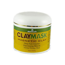 Clay Mask Deep Pore Cleanser, 4 oz, Zion Health