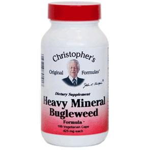 Heavy Mineral Bugleweed Capsule, 100 Vegicaps, Christophers Original Formulas