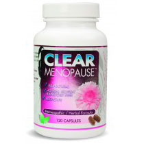 Clear Menopause, 120 Vegetarian Capsules, Clear Products Inc.