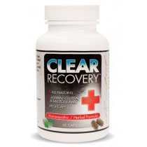 Clear Recovery, 60 Vegetarian Capsules, Clear Products Inc.