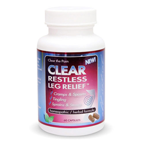 Clear Restless Leg Relief, 60 Capsules, Clear Products