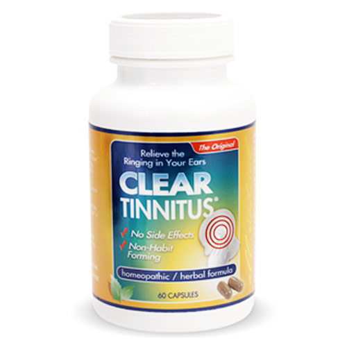 Clear Tinnitus, 60 Capsules, Clear Products