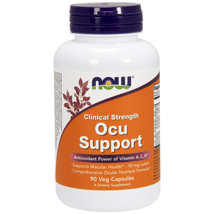 Ocu Support Clinical Strength, 90 Vegetarian Capsules, NOW Foods