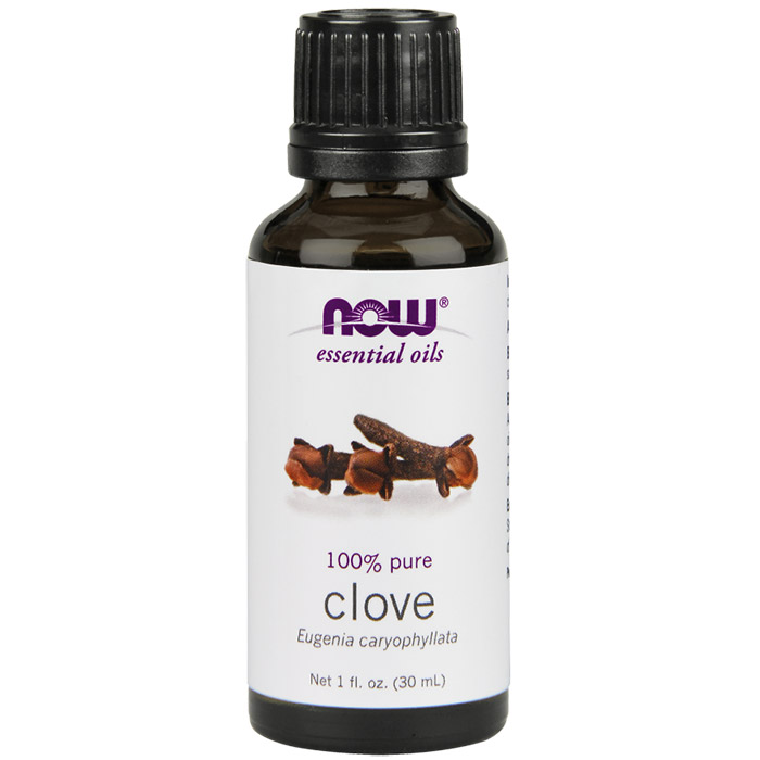 Clove Oil, Pure Essential Oil 1 oz, NOW Foods