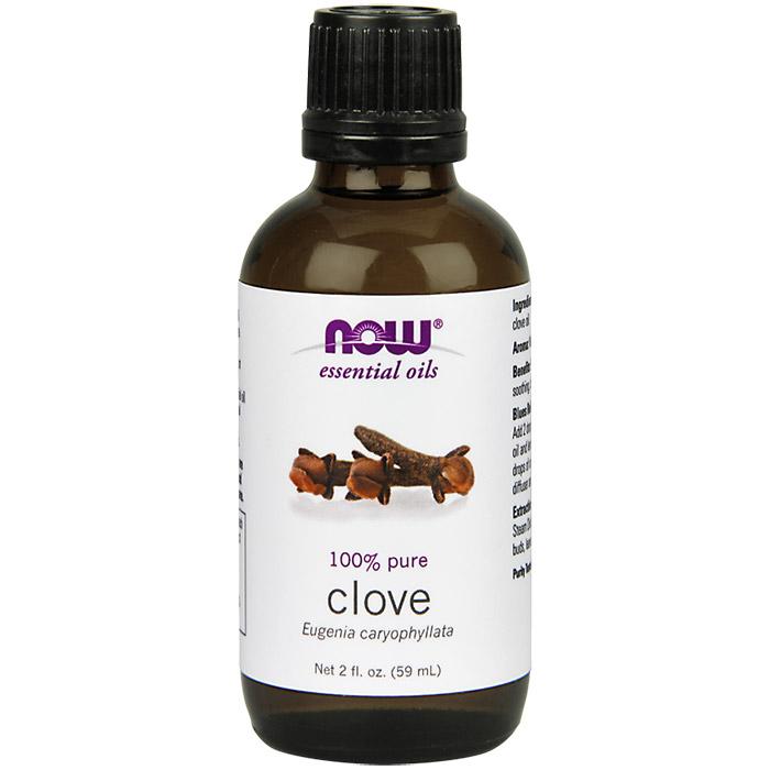 Clove Oil, 2 oz, NOW Foods