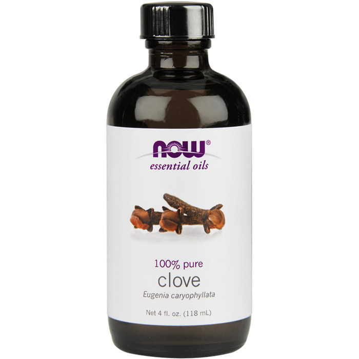 Clove Oil, Pure Essential Oil 4 oz, NOW Foods