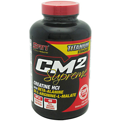 CM2 Supreme, 240 Tablets, SAN Nutrition