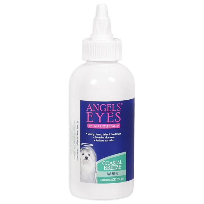 Coastal Breeze Ear Rinse for Dogs & Cats, 4 oz, Angels Eyes