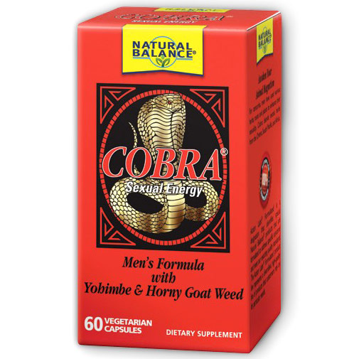 Cobra, Boosts Sexual Energy, 60 Veggie Caps, Natural Balance