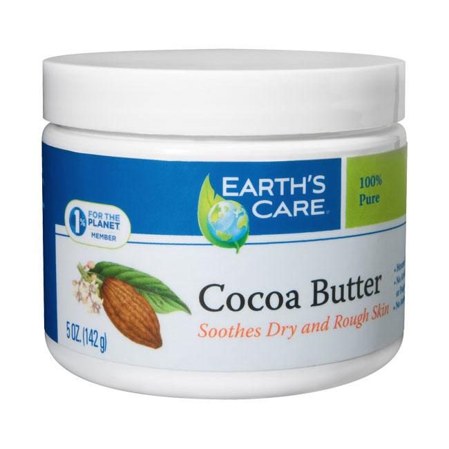 Cocoa Butter 100% Pure, Skin Care, 5 oz, Earths Care