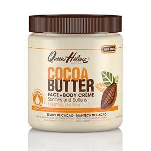 Cocoa Butter Face + Body Creme, 4.8 oz, Queen Helene
