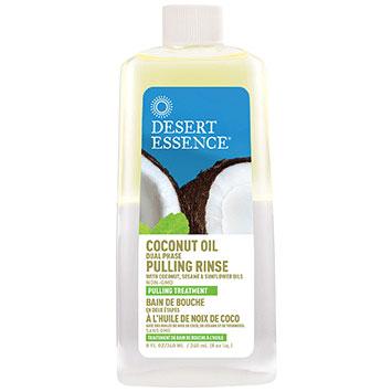 Coconut Oil Pulling Rinse, 8 oz, Desert Essence