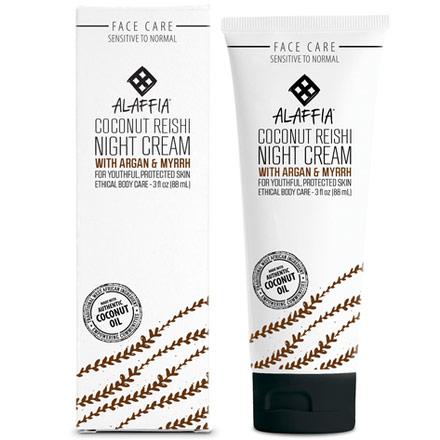 Coconut Reishi Hydrating Night Cream, 3 oz, Alaffia