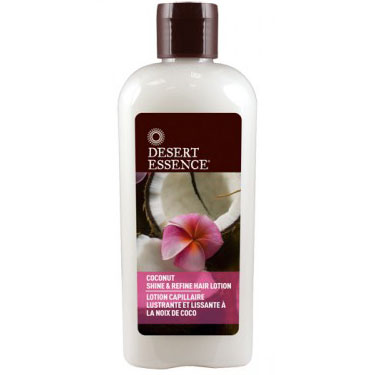 Coconut Shine & Refine Hair Lotion, 6.4 oz, Desert Essence
