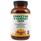 Coenzyme B-Complex Caps, 240 Vegetarian Capsules, Country Life