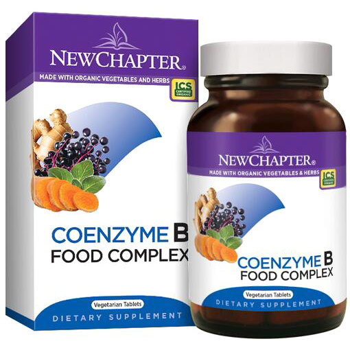 Coenzyme B Food Complex, 30 Vegetarian Tablets, New Chapter
