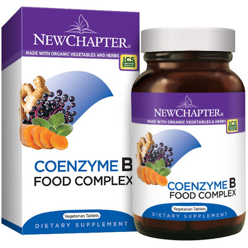 Coenzyme B Food Complex, 90 Vegetarian Tablets, New Chapter