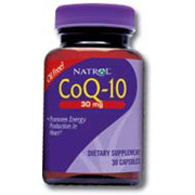 CoQ10 (CoEnzyme Q-10) 30mg 30 caps from Natrol