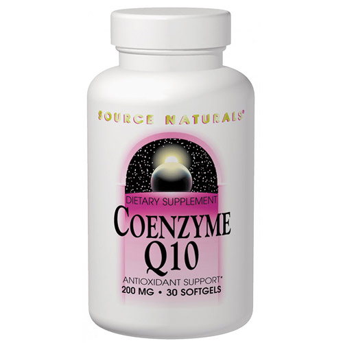 Coenzyme Q10, CoQ10 100mg 30 softgels from Source Naturals
